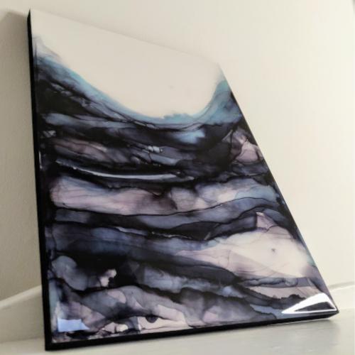 Small epoxy painting